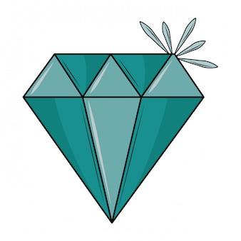 Pedra de diamante de luxo