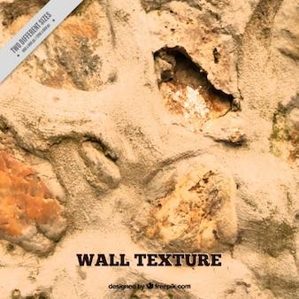 Pedra e areia textura