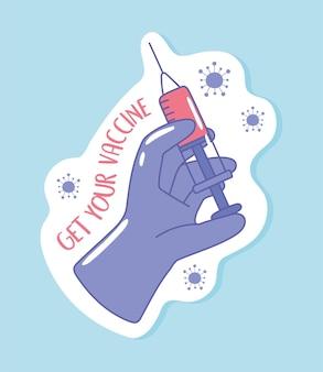 Pegue sua vacina