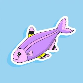 Peixe roxo.