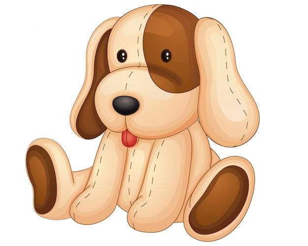 Pelúcia de cachorro
