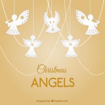 Pendurado anjos
