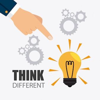 Pense design diferente.