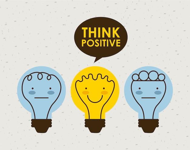 Pense design positivo