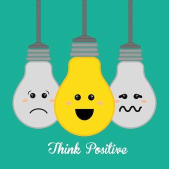 Pense design positivo.