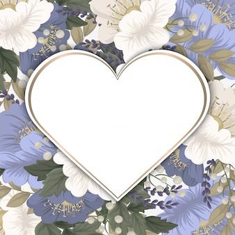 Pensionista de flores de primavera - flor azul claro