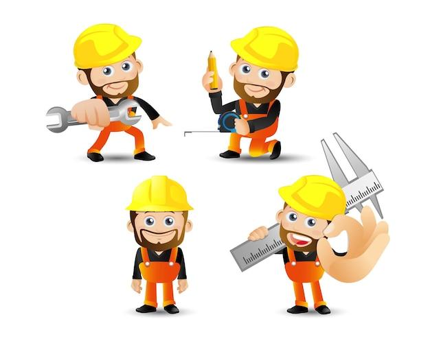 People set profession builder com ferramentas