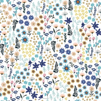 Pequena liberdade do padrão de flores silvestres