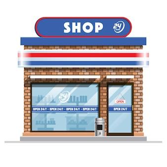Pequena loja de conveniência