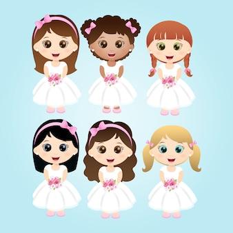 Pequenas noivas