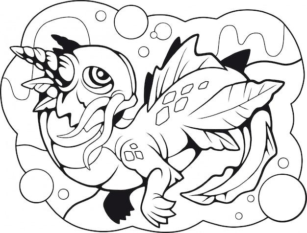 Pequeno dragão de água