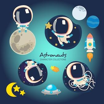 Pequenos astronautas
