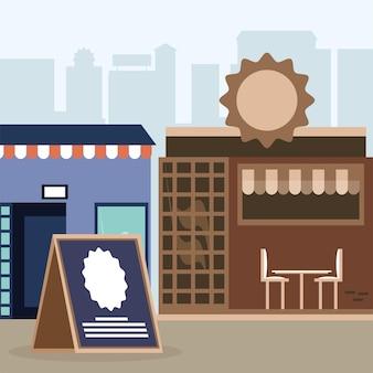 Pequenos negócios de bairro
