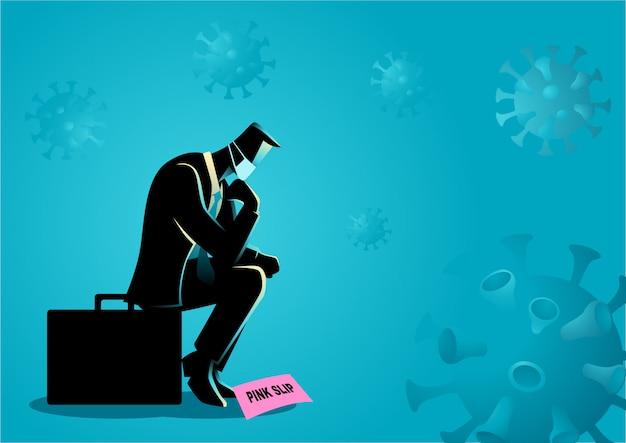 Perda de emprego devido a coronavírus