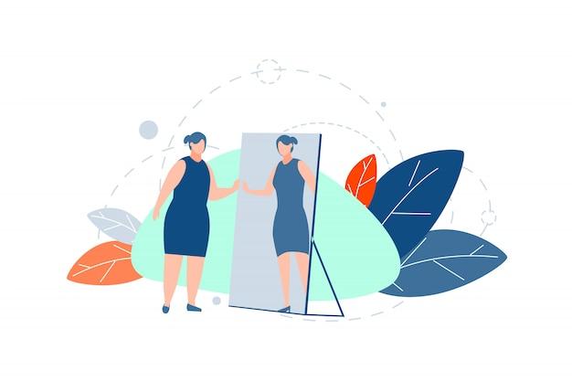 Perda de peso, motivação, conceito de dieta
