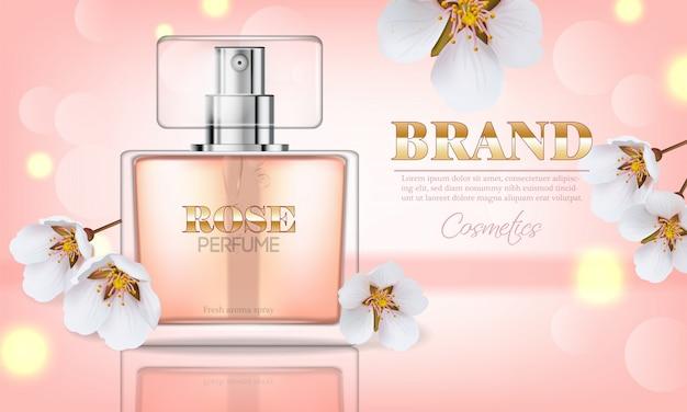 Perfume da flor de cerejeira