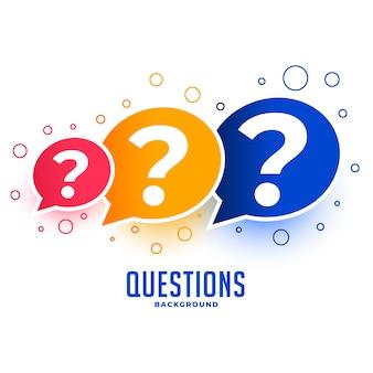 Perguntas da web ajuda e design de página de suporte