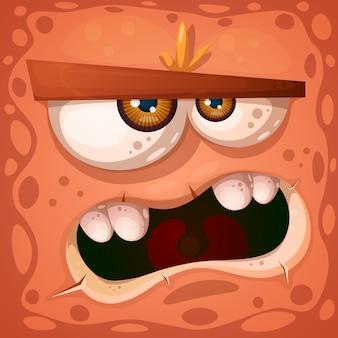 Personagem de abóbora maluca