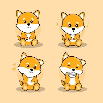 Personagem de cachorrinho
