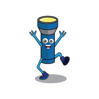 Personagem de desenho animado de lanterna