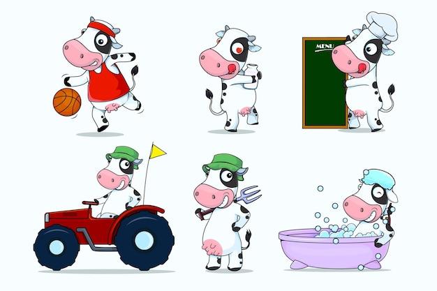 Personagem de desenho animado engraçado