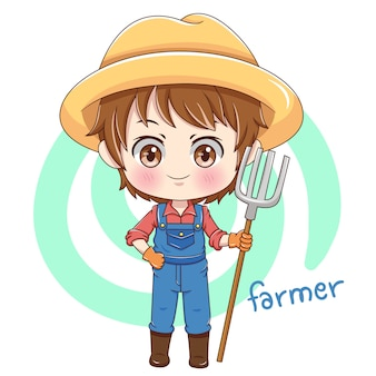Personagem do agricultor