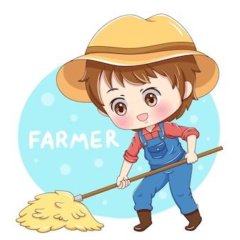 Personagem do agricultor