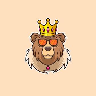 Personagem do rei urso