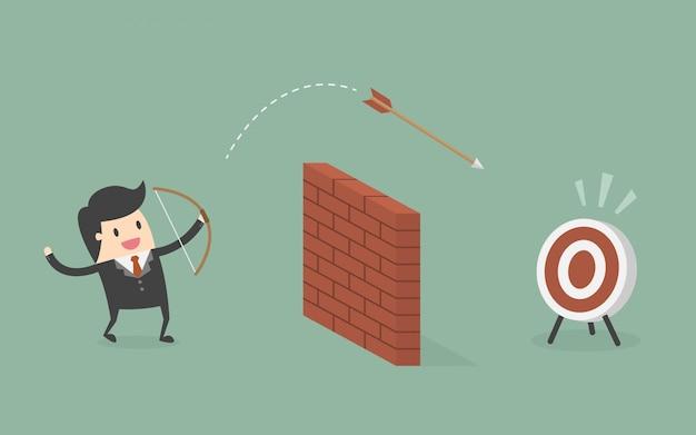 Personagem e alvo de empresário