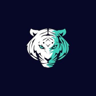 Personagem tigre zangado