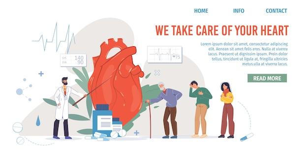 Personagens de desenhos animados médicos em uniformes, jalecos de laboratório com dispositivos médicos e símbolos