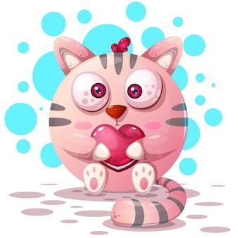 Personagens de gato dos desenhos animados
