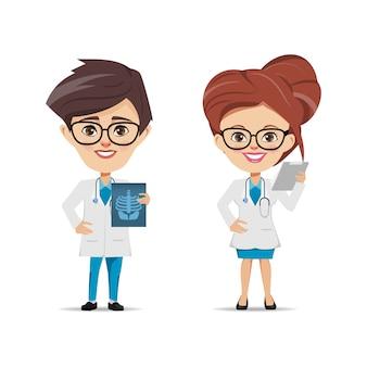 Personagens de médico