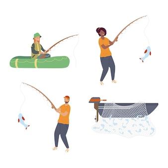 Personagens de quadrinhos de pescadores