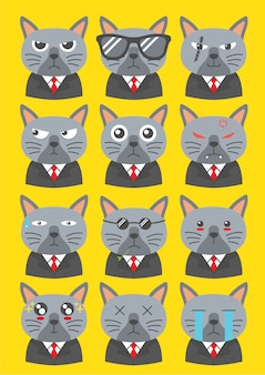 Personagens do gato yakuza
