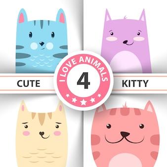 Personagens do gato