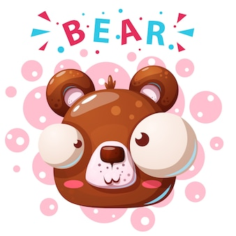 Personagens fofinhos urso