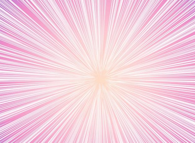Perspectiva futurista e movimento de luz de fundo.