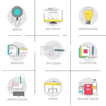 Pesquisa de branding de informações de conteúdo digital
