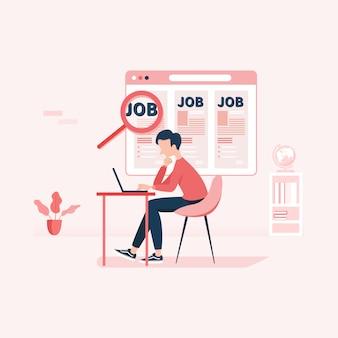Pesquisa de emprego recursos humanos recrutamento carreira