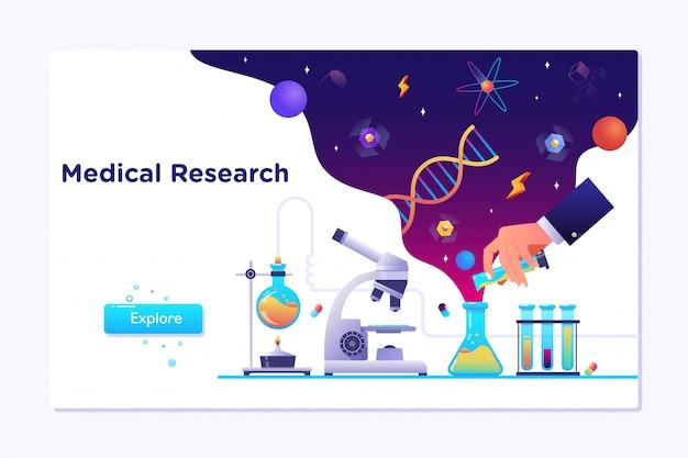 Pesquisa de laboratório médico