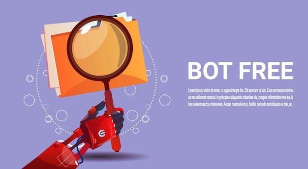 Pesquisa de robô de bate-papo assistência virtual de robô de site ou aplicações móveis, inteligência artificial