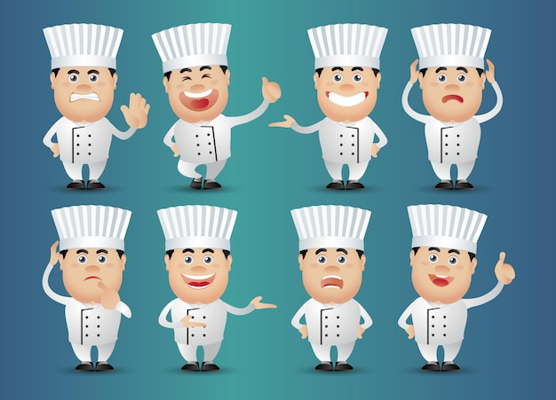 Pessoal-profissional-chef fofo