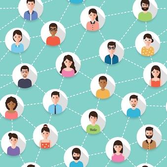 Pessoas conectadas
