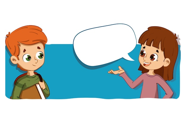 Pessoas conversando