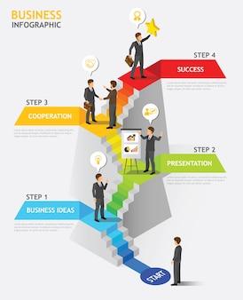Pessoas de negócios isométrica Teamwork n º 2