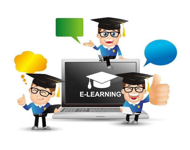 Pessoas definem o conceito de e-learning