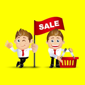 Pessoas definem venda de negócios