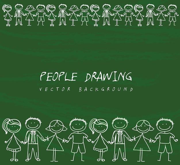 Pessoas desenho