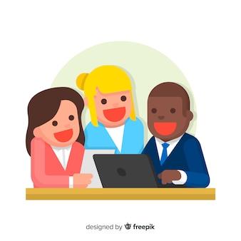 Pessoas do escritório